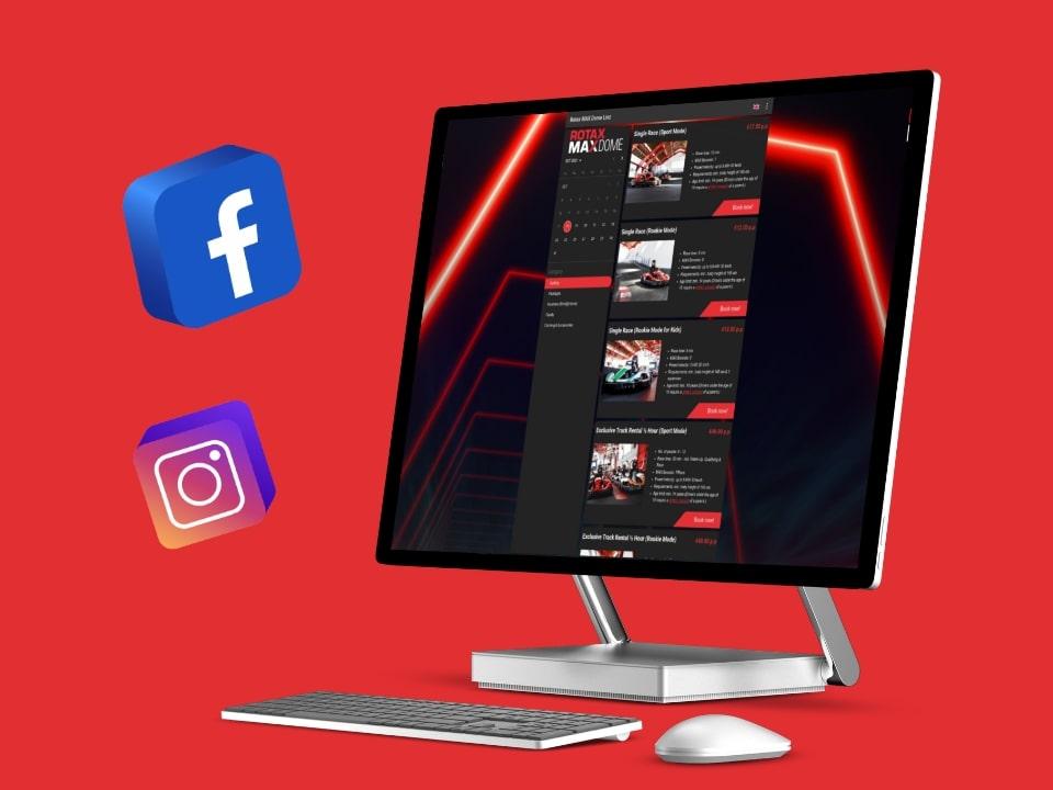 Rotax Maxdome Online Marketing