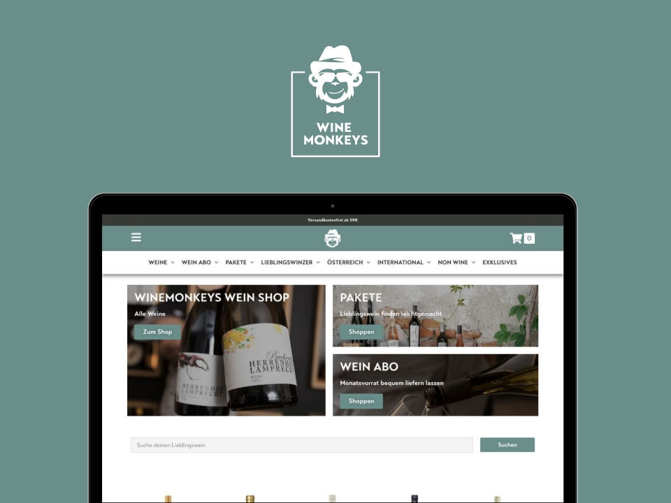 Winemonkeys Shop
